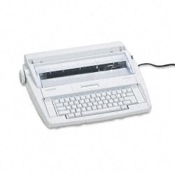 "Brother International - ML300 - Brother ML-300 Electronic Dictionary Typewriter - Daisy Wheel - 12 cps - 9"" Print Width16 Character(s) LCD"