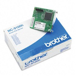 Brother International - NC9100H - Brother NC9100H Print Server - 1 x 10/100Base-TX - 10Mbps, 100Mbps