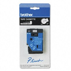 "Brother International - TC20Z1 - Brother TC Laminated Tape Cartridges - 0.37"" Width x 25"" Length - Direct Thermal - White - 1 Each"
