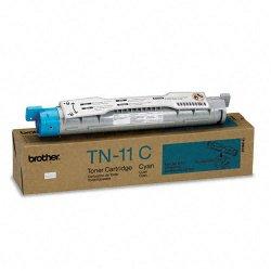Brother International - TN11C - Brother TN-11 Cyan Toner Cartridge - Laser - 6000 Page