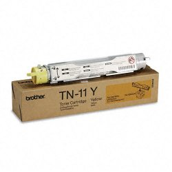Brother International - TN11Y - Brother TN-11 Yellow Toner Cartridge - Laser - 6000 Page