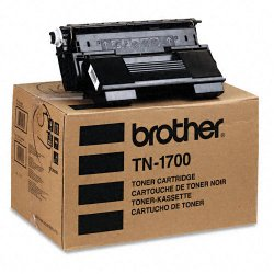 Brother International - TN-1700 - Brother 1700 Black Toner Cartridge - Laser - 17000 Page - Black