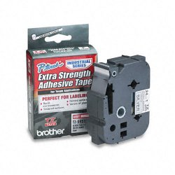 "Brother International - TZS951 - Brother P-Touch TZ Laminated Tape - 1"" Width x 26.20 ft Length - Silver"