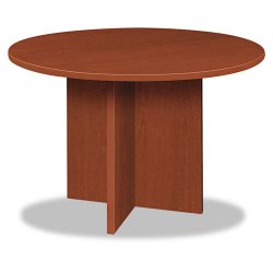 basyx (HON) - BLC48DA1A1 - BL Laminate Series Round Conference Table, 48 dia. X 29 1/2h, Medium Cherry