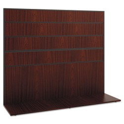 basyx (HON) - BSXMGWKWLC1A1 - Manage Series Work Wall, Laminate, 60w x 17d x 50h, Chestnut