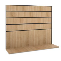 basyx (HON) - BSXMGWKWLWHA1 - Manage Series Work Wall, Laminate, 60w x 17d x 50h, Wheat