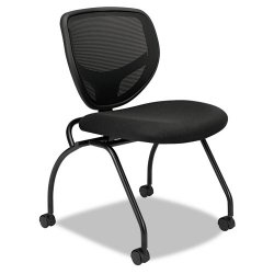 basyx (HON) - VL302MM10 - Black Mesh Desk Chair 17 Back Height, Arm Style: No Arms