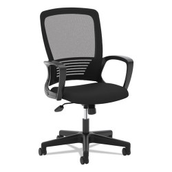 basyx (HON) - BSXVL525ES10 - VL525 Mesh High-Back Task Chair, Black