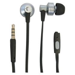Other - CLSTHD400 - 400 Series Earbuds, 4 ft Cord, Black/Silver