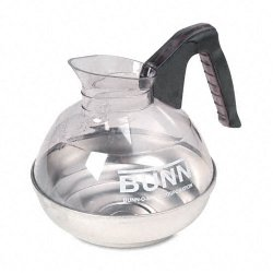 Bunn-O-Matic - 6100 - 64 oz. Easy Pour Decanter, Black Handle