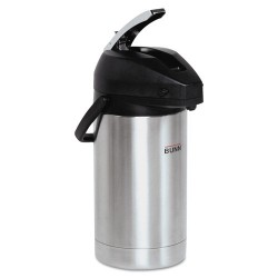 Bunn-O-Matic - 32130.0000 - 3 Liter Lever Action Airpot, Stainless Steel/Black