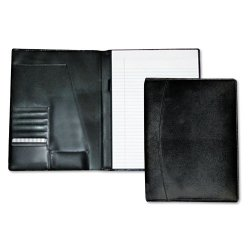 Buxton - ST87795.BK - Men's Classic Pad Folio/Writing Pad, 8 1/2 x 11, Black, Each
