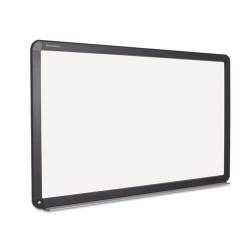 Bi-silque - BI1591720 - Interactive Magnetic Dry Erase Board, 90 x 52 7/10 x 4 1/5, White/Black Frame