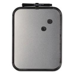 Bi-silque - CLK020408 - Magnetic Dry Erase Board, 11 x 14, Black Plastic Frame