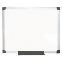 Bi-silque - CR0801170MV - Porcelain Value Dry Erase Board, 36 x 48, White, Aluminum Frame