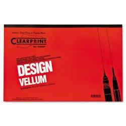 Chartpak - 10001416 - Design Vellum Paper, 16lb, White, 11 x 17, 50 Sheets/Pad