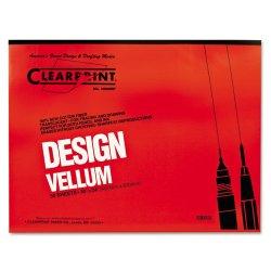 Chartpak - 10001422 - Design Vellum Paper, 16lb, White, 18 x 24, 50 Sheets/Pad