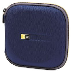 Case Logic - EVW-24 - Case Logic 24-Capacity CD Wallet - EVA (Ethylene Vinyl Acetate) - 24 CD/DVD