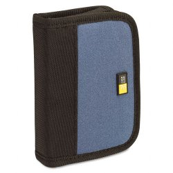 Case Logic - JDS-6 BLUE/BLACK - Case Logic USB Drive Shuttle - Neoprene, Nylon - Blue, Black - 6 USB Drive