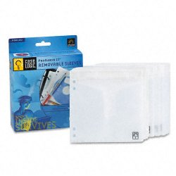 Case Logic - PSR-100 - Case Logic ProSleeve II 50 Double Sided CD Sleeves - Slide Insert - White