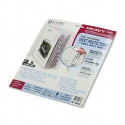 C-Line - 05587 - C-Line Top Loading Sheet Protector - Letter 8.50 x 11 - Polypropylene - 8 / Set - Clear