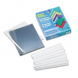 C-Line - 32557 - C-Line Report Cover with Binding Bars - 0.13 Folder Capacity - Letter - 8.50 Width x 11 Length Sheet Size - 20 Sheet Capacity - Vinyl - Clear - 50 / Box