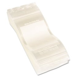 C-Line - 47235 - C-Line Write-On Small Parts Bags - 5 x 3 - Poly - 1000 / Box