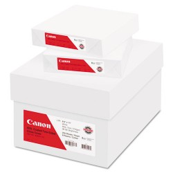 Canon - 0340V115 - Canon Coated Two-sided Gloss Cover Paper - Letter - 8.5 x 11 - 80lb, 216g/m - Glossy
