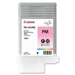 Canon - 0888B001 - Canon LUCIA Photo Magenta Ink Tank For imagePROGRAF iPF5000 Printer - Inkjet - Photo Magenta
