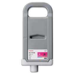 Canon - 0902B001 - Canon LUCIA Magenta Ink Tank For IPF9000 Printer - Inkjet - Magenta