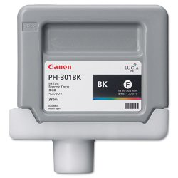 Canon - 1486B001 - Canon LUCIA Black Ink Tank For IPF9000 Printer - Inkjet - Black