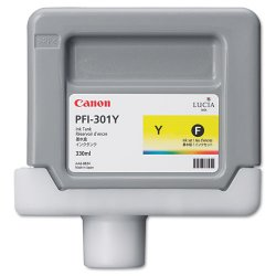Canon - 1489B001 - Canon LUCIA Yellow Ink Tank For IPF9000 Printer - Inkjet - Yellow