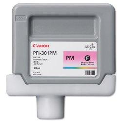Canon - 1491B001AA - Canon PFI-301PM Ink Cartridge - Photo Magenta - Inkjet