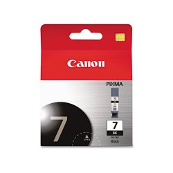 Canon - 2444B002 - Canon PGI-7 Original Ink Cartridge - Inkjet - Black - 1 Each