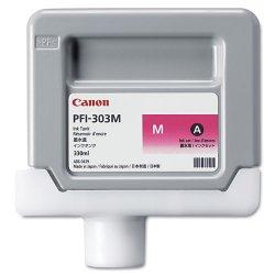 Canon - 2960B001AA - Canon PFI-303M Ink Cartridge - Magenta - Inkjet