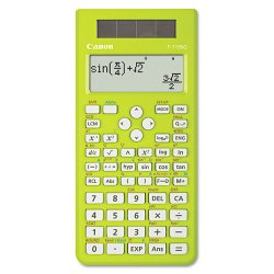 Canon - 4178B001 - Canon F-719SG Scientific Calculator - 302 Functions - Dual Power, Auto Power Off, Independent Memory - 4 Line(s) - 18 Digits - LCD - Battery/Solar Powered - 0.7 x 3.9 x 6.7 - Green
