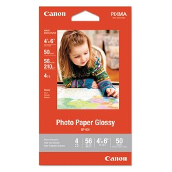 Canon - 8649B001 - Photo Paper Glossy 4 X 6, 50 Sheets
