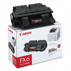 Canon - 1559A002 - Canon FX-6 Black Toner Cartridge - Laser - 5000 Page - Black