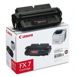 Canon - 7621A001AA - Canon FX-7 Black Toner Cartridge - Black - Laser - 4500 Page