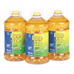 Clorox - 35419 - Pine-Sol All Purpose Cleaner - Liquid - 1.13 gal (144 fl oz) - Lemon Fresh Scent - 1 Each - Yellow