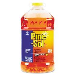 Clorox - 41772 - Pine-Sol All Purpose Cleaner - Liquid - 1.13 gal (144 fl oz) - Orange Energy Scent - 1 Each - Orange