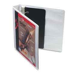 Cardinal Brands - 10310 - Easy-Open ClearVue Locking Slant-D Binder, 1.5 Cap, 11 x 8 1/2, White