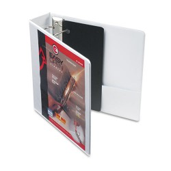 Cardinal Brands - 10320 - Easy-Open ClearVue Locking Slant-D Binder, 2 Cap, 11 x 8 1/2, White