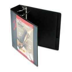 Cardinal Brands - 10331 - Easy-Open ClearVue Locking Slant-D Binder, 3 Cap, 11 x 8 1/2, Black