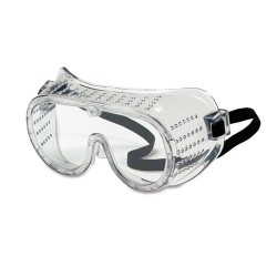 Crews - MCR 2220 - Safety Goggles, Over Glasses, Clear Lens