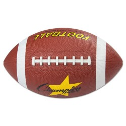 Champion Sports - RFB1 - Outdoor Water Resistant Pro Rubber Football