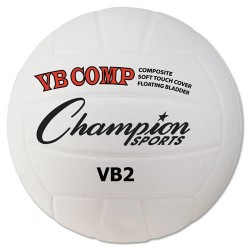 Champion Sports - VB2 - Indoor or Outdoor Composite Leather Volleyball