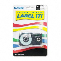 Casio - XR24WES - Casio Labeler Tape - 0.94