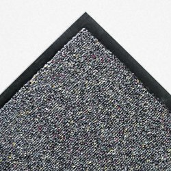 Crown Mats / Ludlow Composites - CB0046GY - Classic Berber Wiper Mat, Nylon/Olefin, 48 x 72, Gray