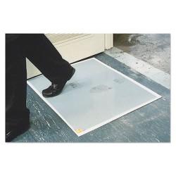 Crown Mats / Ludlow Composites - CRO WCRPLPAD - Walk-N-Clean Dirt Grabber Mat 60-Sheet Refill Pad, 30 x 24, Gray